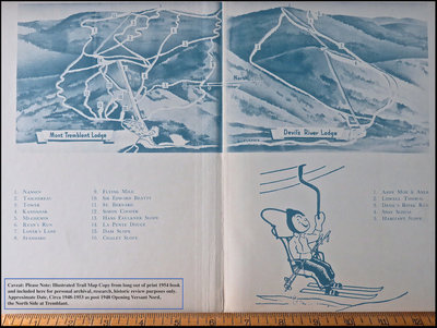 Exact Trail Map Year Unknown between 1948 and 1954