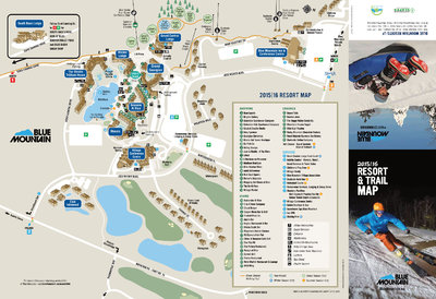 Blue Mountain Trail Map