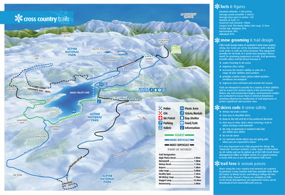 Falls Creek cross country ski trails 2011