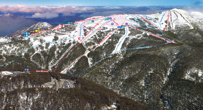 Mt Buller, northern slopes