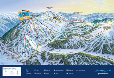 Perisher, Guthega area shows new Freedom quad chair