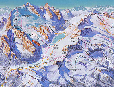 Piste map from around 2008