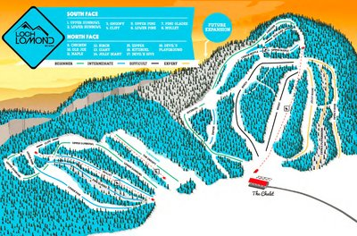 Loch Lomond Trail Map (New Management)