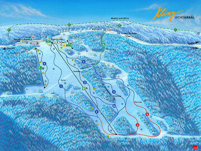 Piste map for 2019/20 season