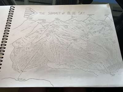 hand drawn map complete. pre upgrades