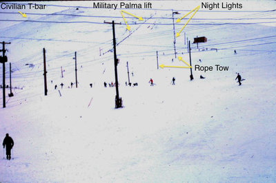 Original Rope Tow Locations (Riblet Double not yet installed)