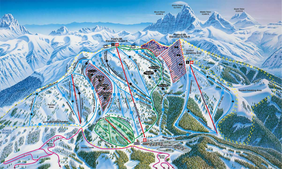 grand targhee ski resort essay This live high-definition cam shows you a perspective of the ski resort grand targhee resort, among the top 5 ski resorts in united states, close to freds mountain peak it is situated in the caribou-targhee national forest, in the us state of wyoming.