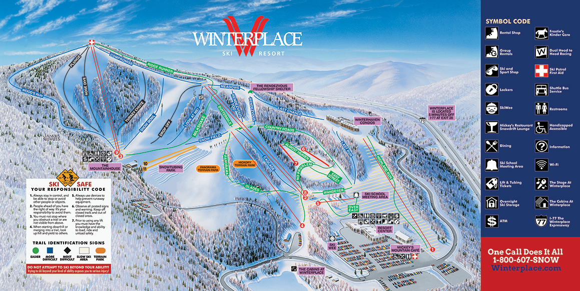 Winterplace Ski Resort - SkiMap.org on