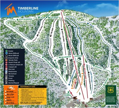 Update Timberline Mountain trail map