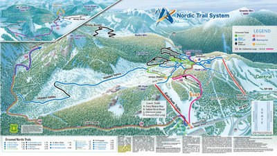 Summit At Snoqualmie Nordic Center Map