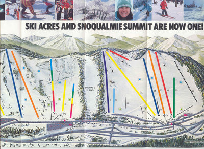 Ski Acres & Snoqualmie become one.