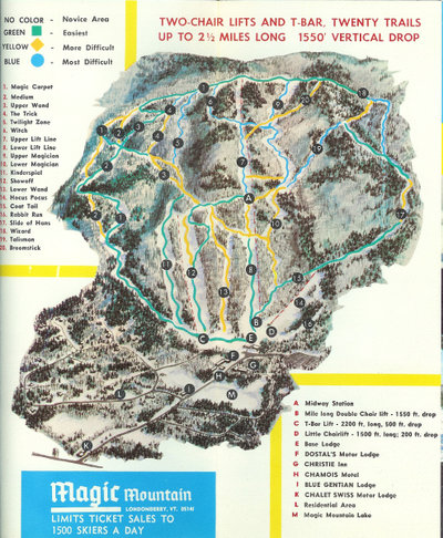 Map from 1970-71 Season Brochure