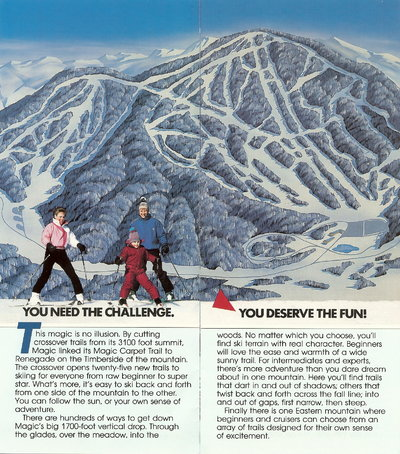 Magic Mountain 1987 Brochure