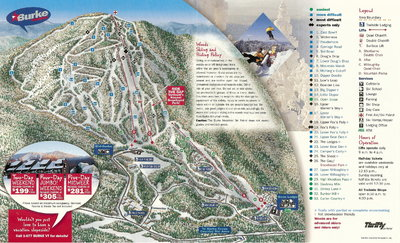 Burke 1998 Brochure Trail Map