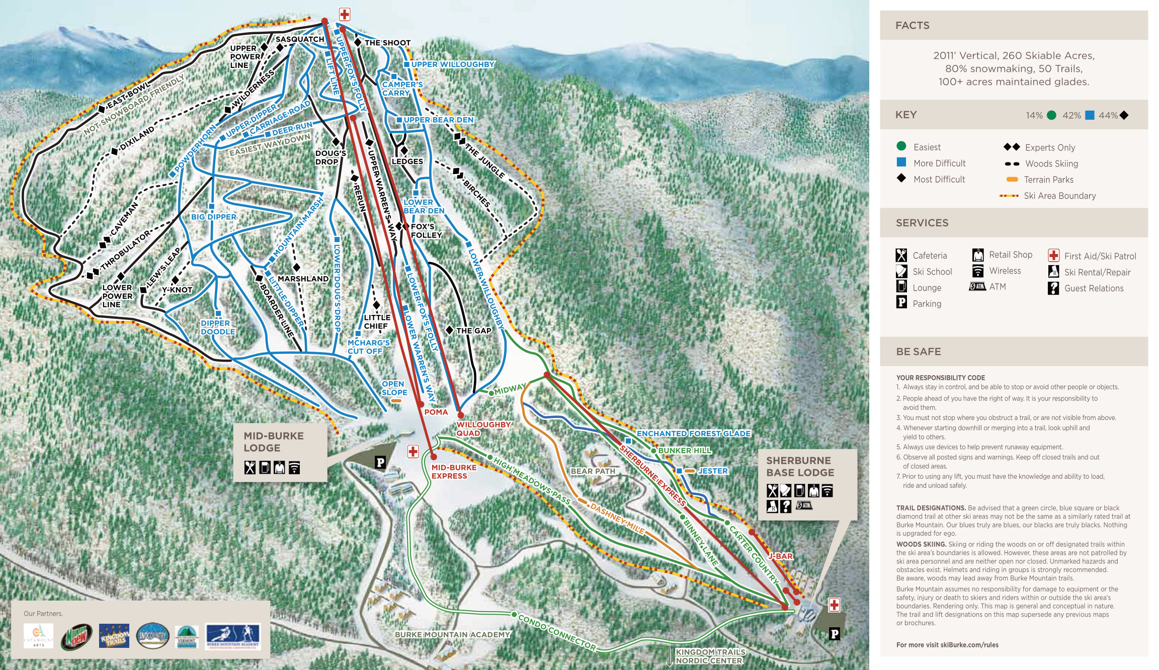 map of ski mountains in vermont with 208 on Best Northwest Winter Getaways as well Chamonix additionally Trailmap furthermore SnowSummit in addition Washington Ski Resorts Map Poster.
