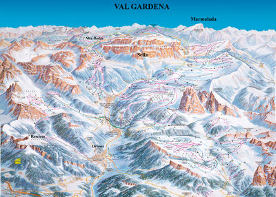 Piste map for 1997/98 season.