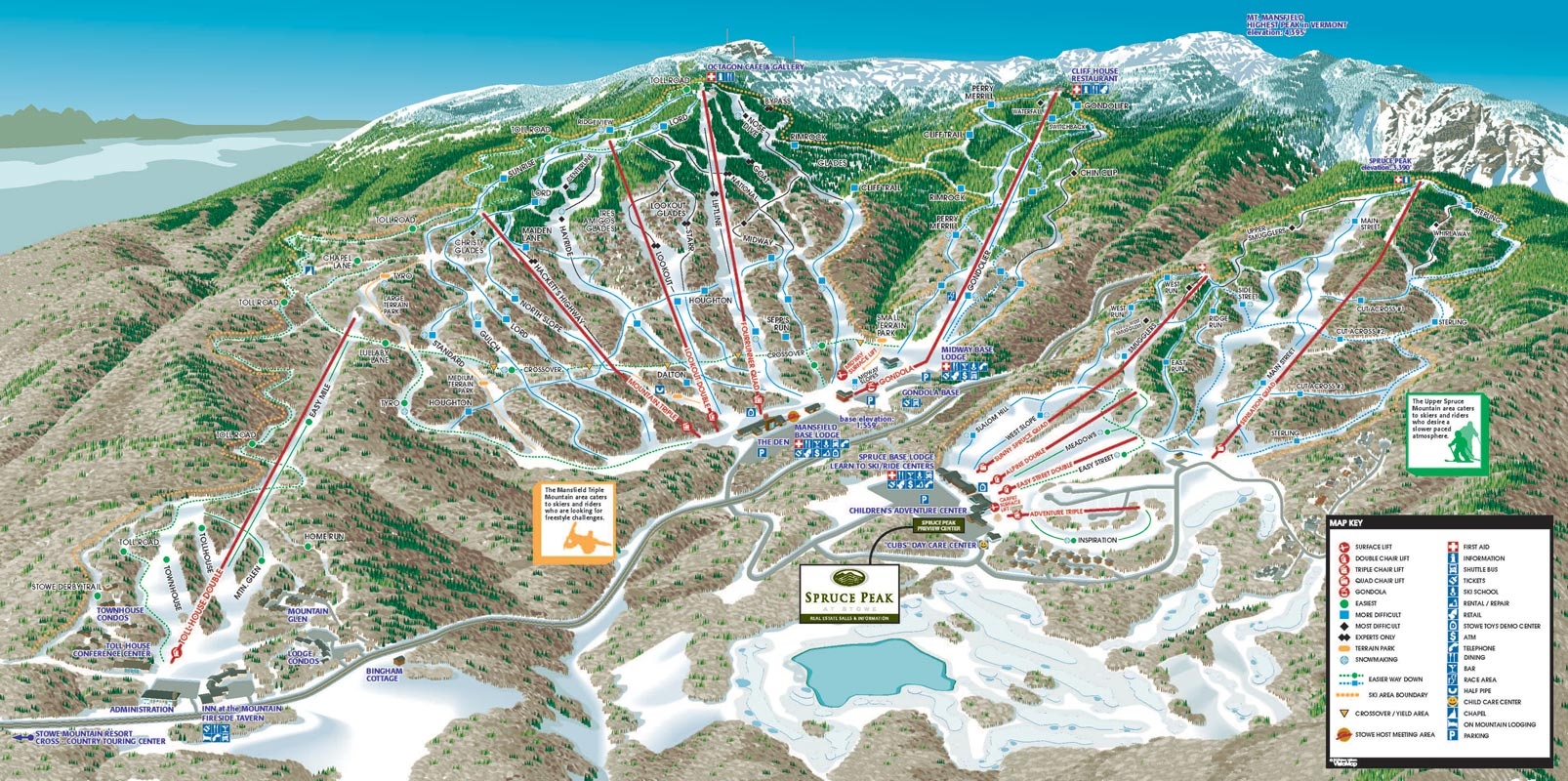 smugglers notch vt map with 212 on Mount Mansfield Vermont Trail Map together with Maps likewise Vermont Skiing Map moreover 2135081414950290903 besides Sugarbush Resort.