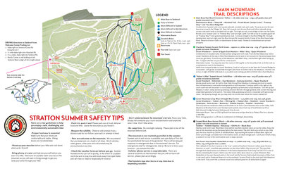 Summer Hiking map + Nordic map