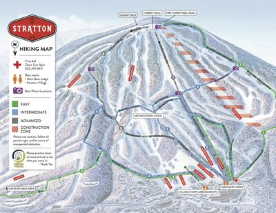 2018 hiking map with the snowbowl area under restriction. Found from https://blog.stratton.com/2018/09/four-hiking-trails-you-need-to-hit-this-month/
