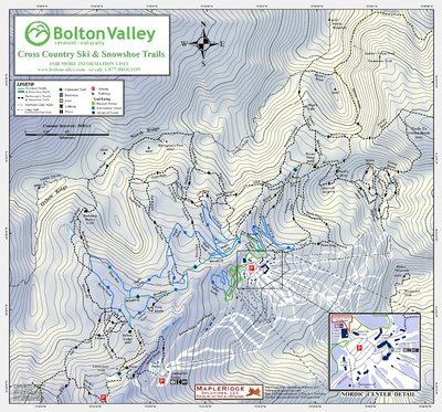 2009-10 Nordic & Snowshoe Trail Map (Full)