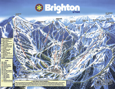 This is the real 2014 Brighton trail map