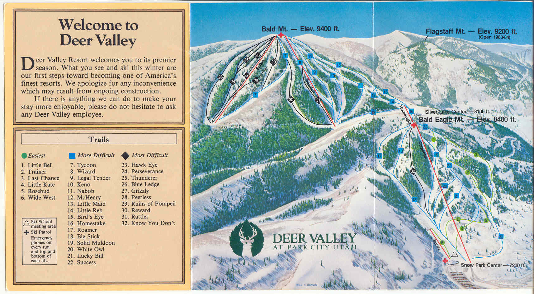 Deer Valley Resort - SkiMap.org on