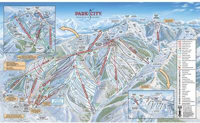 Park City Mountain Resort The Canyons Skimap Org