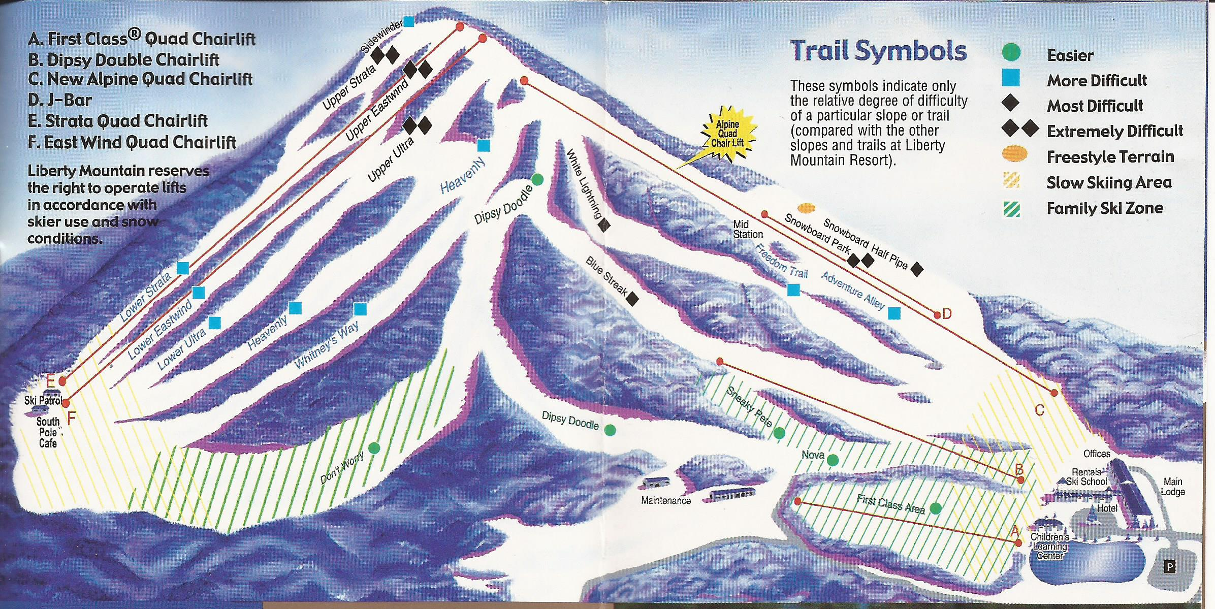 liberty mountain - skimap