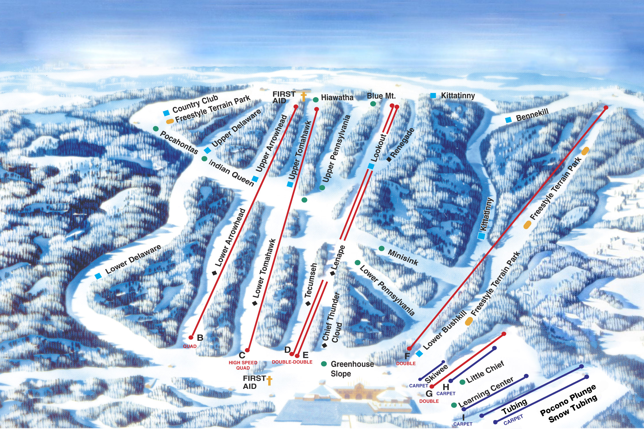 shawnee mountain - skimap