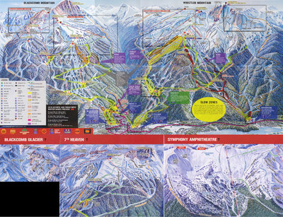 2006-07 Whistler Blackcomb Map