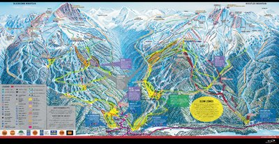 2005-06 Whistler Blackcomb Map