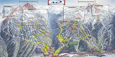 2002-03 Whistler Blackcomb Map