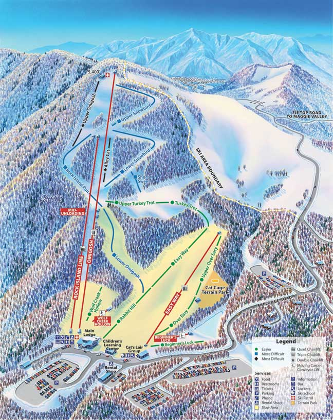 Cataloochee Ski Area Home Rentals