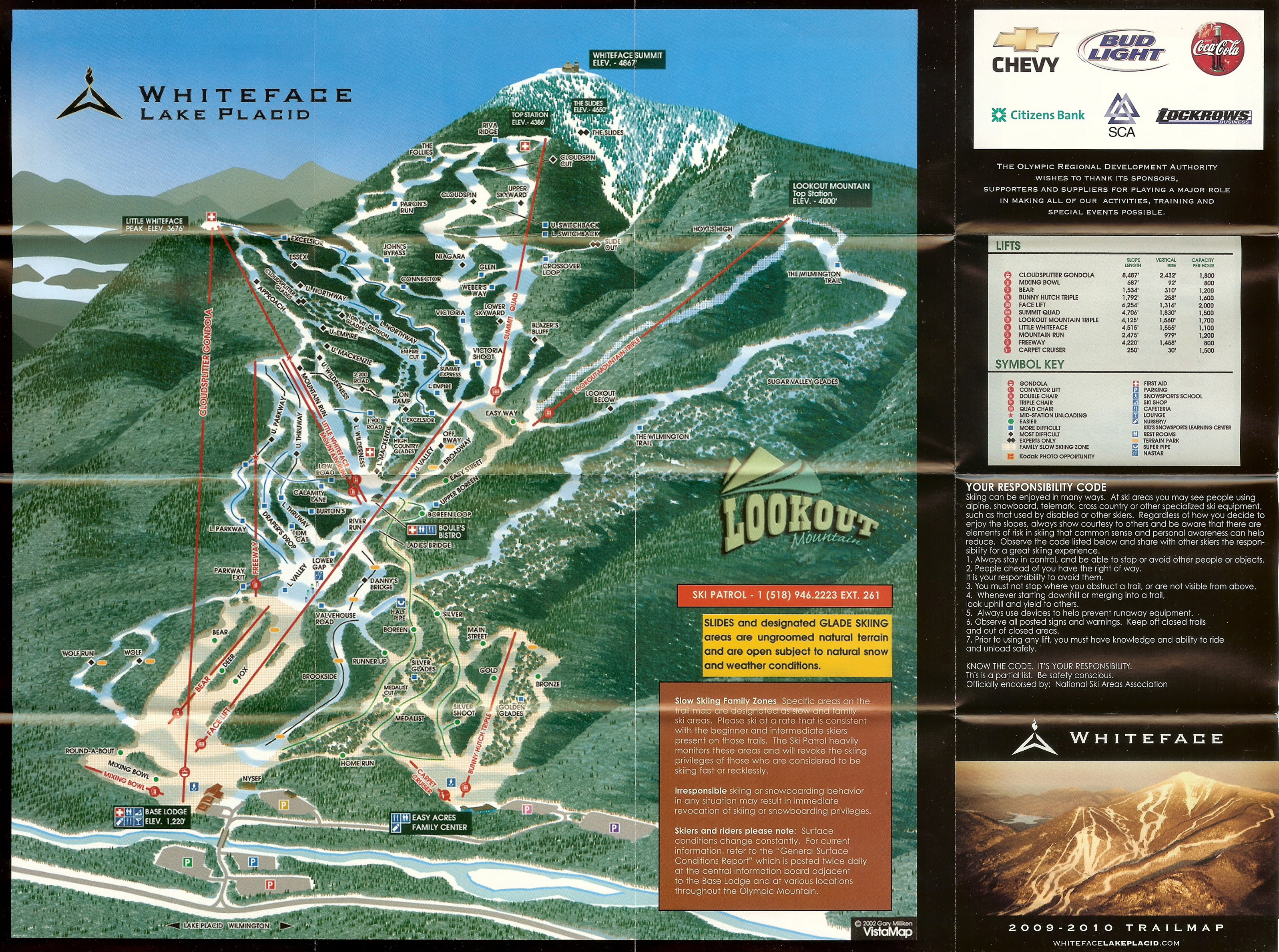 Whiteface Mountain - Lake Placid - SkiMap.org