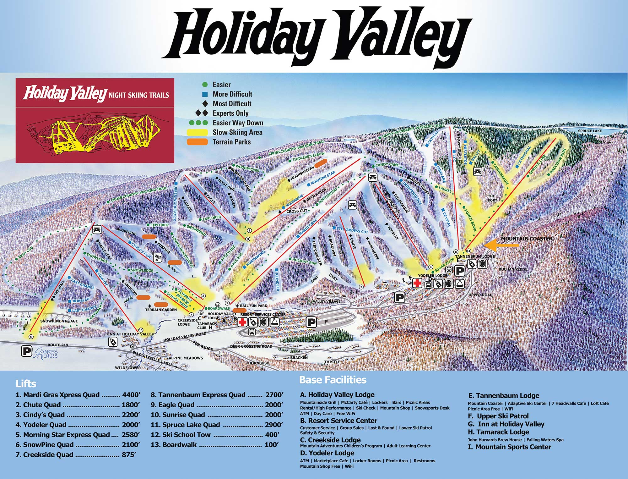 Holiday Valley Ski Resort