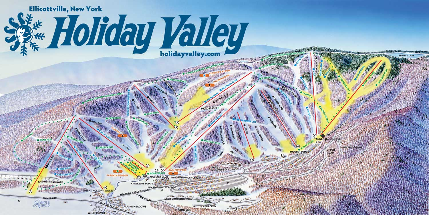 Holiday Valley Ski