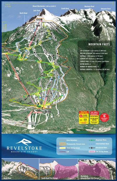 2007 Revelstoke Official Map