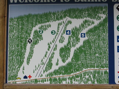 2004-07 Salmo Downhill Map
