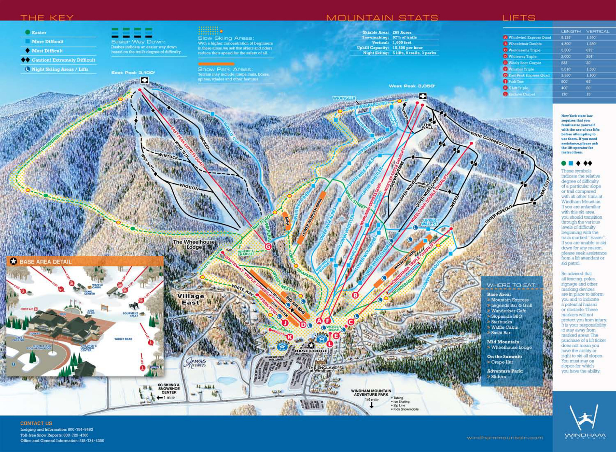 windham mountain - skimap