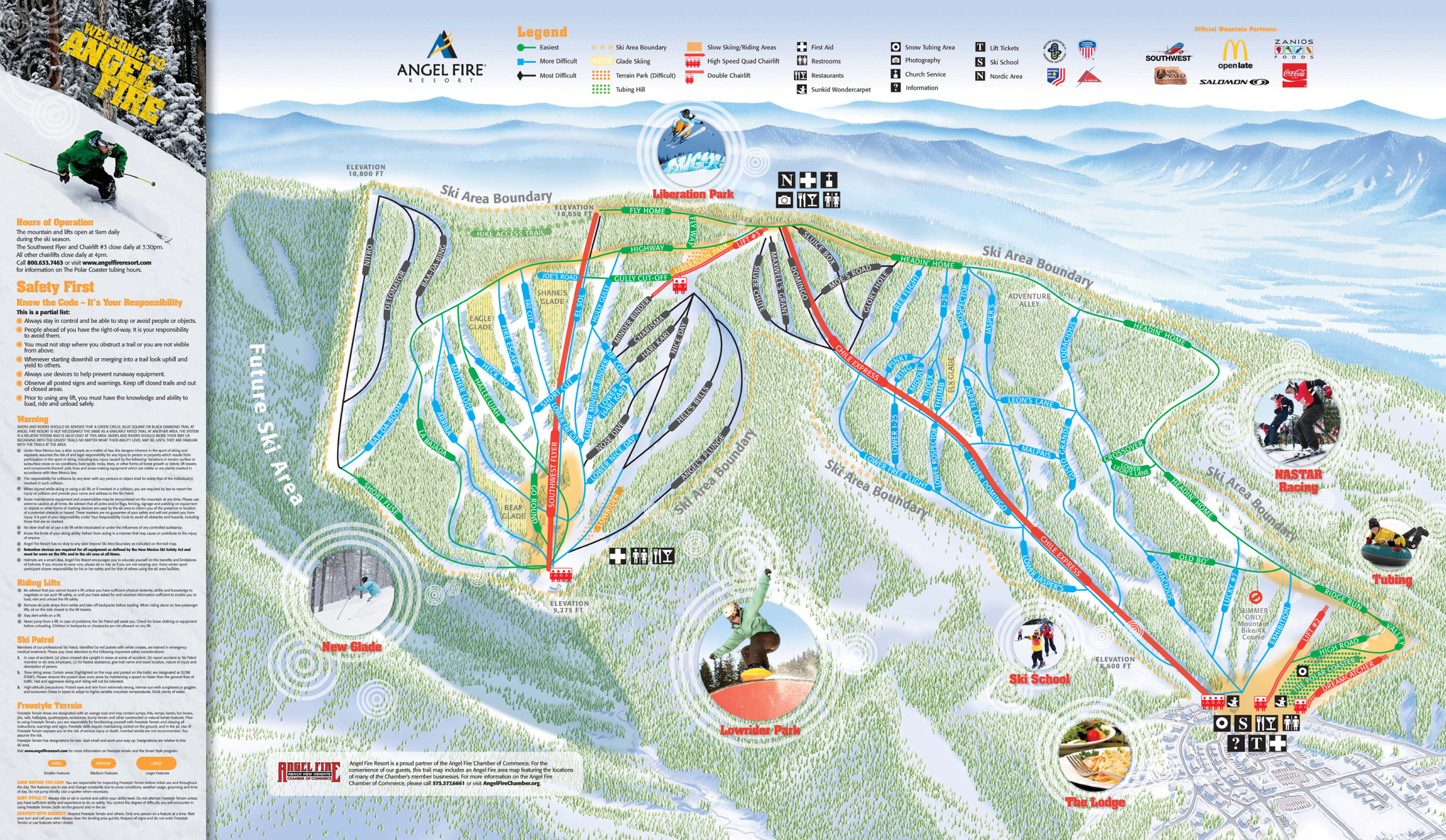 angel fire resort skimap