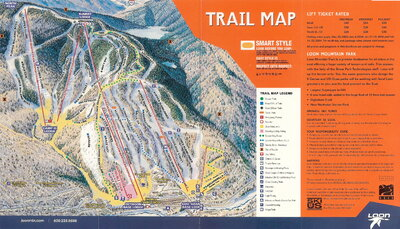 Loon 2003 Brochure Trail Map