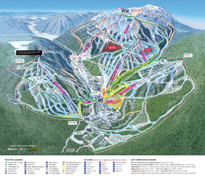 2017/18 Downhill Trail Map