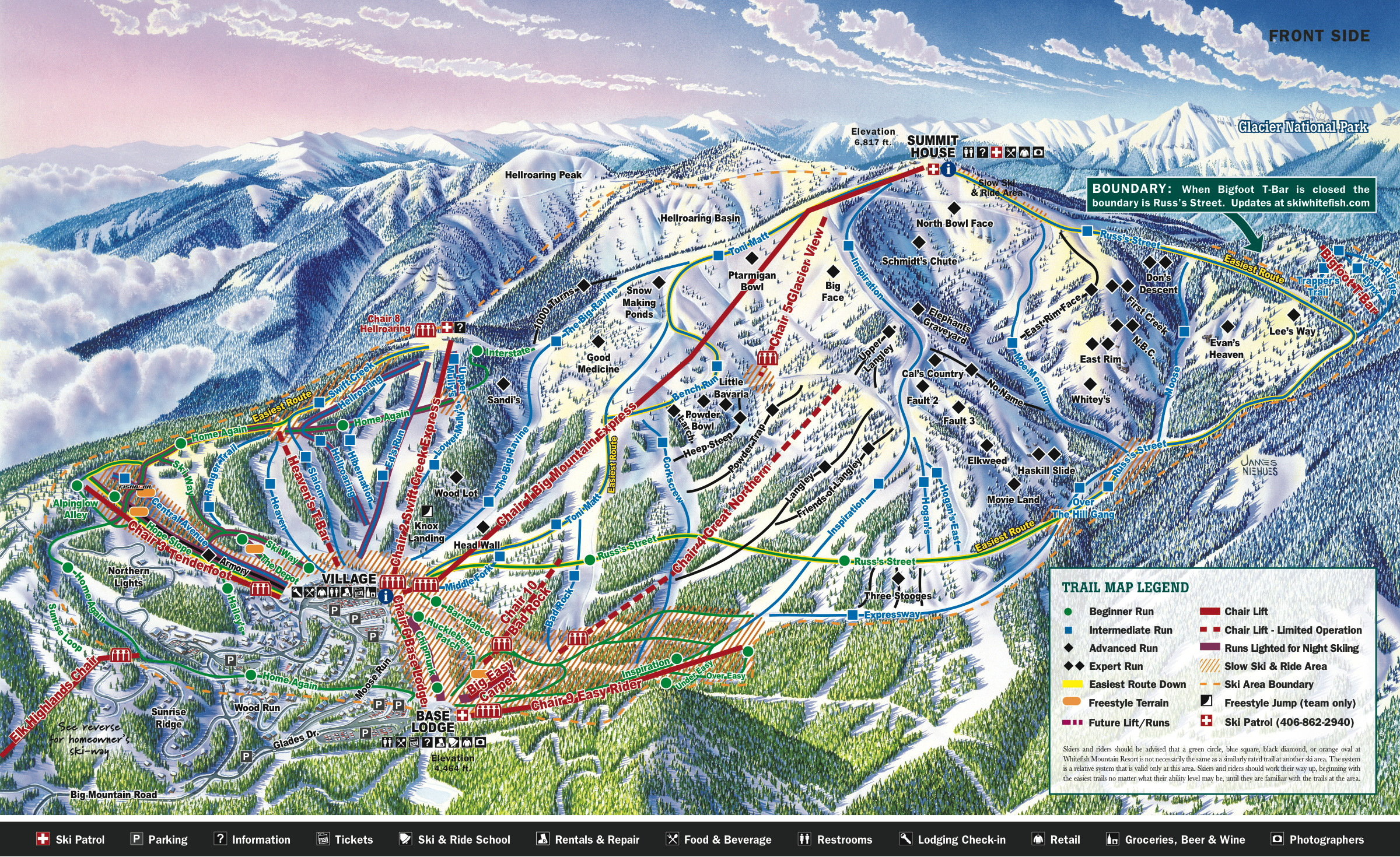 Whitefish Mountain Resort Skimap Org