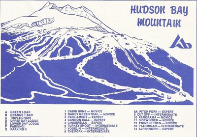 Known as Hudson Bay Mountain