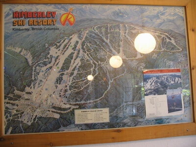 Old Kimberley Downhill Map