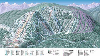 2002-03 Kimberley Downhill Map