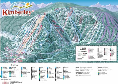 2003-06 Kimberley Downhill Map