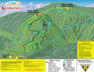 2006 Kimberley Summer Map