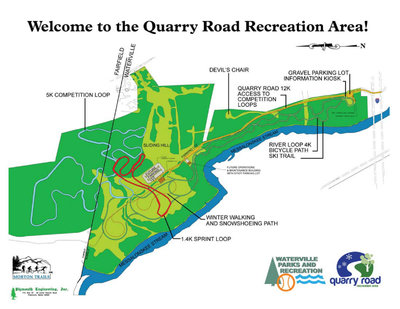 The new quarry recreation facility. the old one was abandon in the 60s