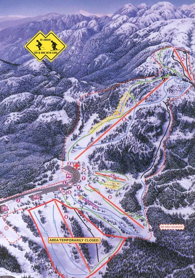 2000-05 Seymour Downhill Map